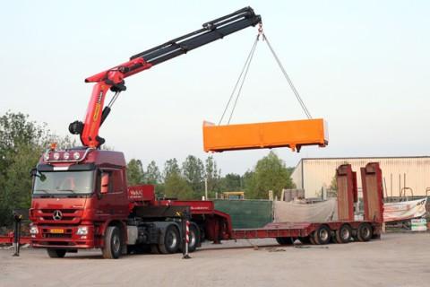 Camions à grue Palfinger